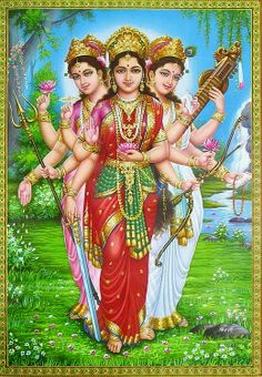 Goddess Shakti means Divine Power / Energy. There are many female deities in the Hinduism. Most popular Hindu Goddesses names are Parvati, Laxmi & Saraswati.