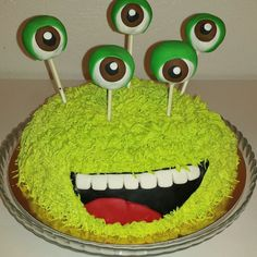 Wesoły Potworek /monster cake