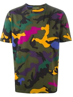 Valentino T-shirt Con Estampado De Camuflaje - Julian Fashion - Farfetch.com
