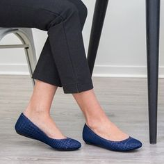 Betabrand Athletic-Inspired Ballet Flats