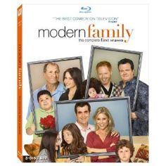 Modern Family First Season on Blu-ray