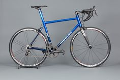 Light and fast steel bike. Like the cable routing to rear brake.