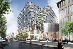 Schmidt Hammer Lassen Architects wins major mixed-use development in central Stockholm
