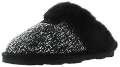Bearpaw Women's Paulette Sheepskin Slip On Slippers * Awesome boots. Click the image : Bearpaw boots