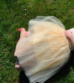Tiulowa spódnica od La Sissi  BLOG MUSZKA
