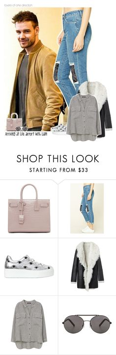 """""""Arriving at LAX airport with Liam"""" by lovers-of-one-direction on Polyvore featuring Yves Saint Laurent, Forever 21, Kenzo, Proenza Schouler, Violeta by Mango, Seafolly, OneDirection, LiamPayne, onedirectionoutfits and loversofonedirectionoutfits"""