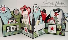 Sharon Johnson - Accordion Tag Holder