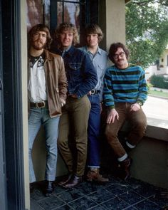 Doug Clifford, Tom Fogerty, John Fogerty, and Stu Cook Rock N Roll, Tune Music, Dad Rocks, Creedence Clearwater Revival, Live Rock, Progressive Rock, Rock Legends, Popular Music, Music Love