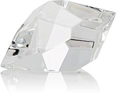 Saint-Louis Excess Diamond-Shaped Crystal Large Paperweight kf4PWD