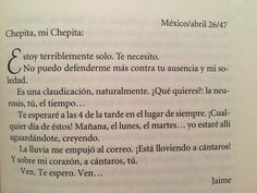 Los amorosos; Cartas a Chepita / Jaime Sabines