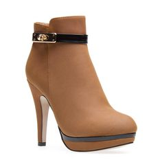 Upscale ankle boot.
