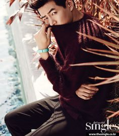 Lee Sang Yoon - Singles Magazine September Issue '14