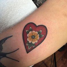 Yellow Traditional Flower Wrist tattoo   Best Tattoo Ideas Gallery