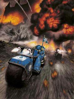 """captainblacklobster: """" Timeline of the Millennium: * The Ultramarines clash with Tau colonisation forces on the world of Malbede; both armies later unite against Necron awakening. The Tau escape the planet, which is destroyed in an. Affiliate Partner, Necron, Far Future, Angel Of Death, Thought Of The Day, Warhammer 40000, Space Marine, Sci Fi Fantasy, Dungeons And Dragons"""