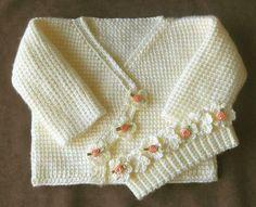 Mary Helen artesanatos croche e trico: Casaquinhos Bebê