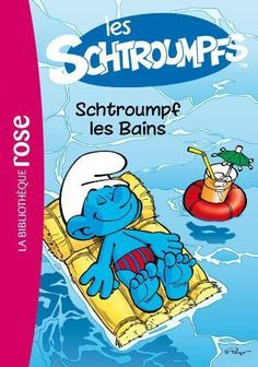 Les-Schtroumpfs-1-Schtroumpf-les-bains-de-Peyo-La Bibliothèque rose