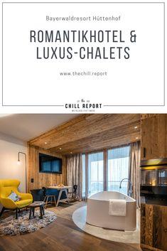 Bayerwaldresort Hüttenhof: Romantikhotel & Luxus-Chalets Wellness, Bavaria, Best Hotels, Chill, Romance, Europe, Outdoor Decor, Top, Home Decor