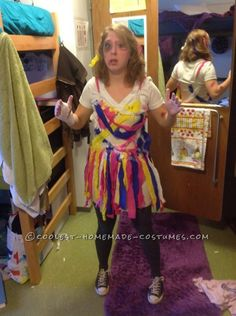 Original PTSD Pinata Costume Idea for a Woman ... This website is the Pinterest of costumes