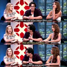 They're so cute he changes his answer when Eliza is like oh ok, just cause she's her and his him. They're so freaking cute, I can't!!