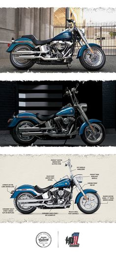 The perfect platform to build your own timeless beauty. | 2016 Harley-Davidson Fat Boy
