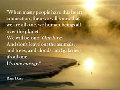 Ram Dass on energy and how we are all interconnected. Ram Dass, We Are All One, Unity In Diversity, Les Religions, A Course In Miracles, Words Quotes, Sayings, Law Of Attraction, First Love