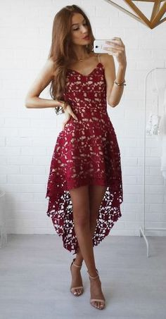 6ed0f3879820d Click to view pattern for - Crochet fashionable dress Dress Outfits, Cute  Dresses, Fashion