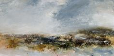 Nearing oil on canvas 50cm x 101cm by Dion Salvador Lloyd http://www.dionsalvador.co.uk