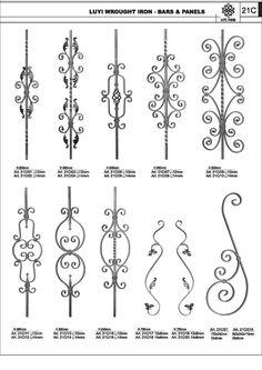Resultado de imagen para diseños en hierro forjado gratis