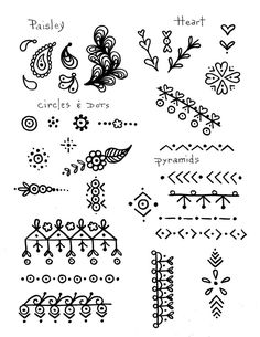 How to Doodle Draw like the Pros Learn Step by Step how to Doodle Draw for All Ages zentangle style Be a Pro Sell your work - myeasyidea sites Doodle Designs, Doodle Patterns, Zentangle Patterns, Mehndi Designs, Easy Patterns To Draw, Zentangles, Dessin Design Simple, Simple Designs To Draw, Cute Designs