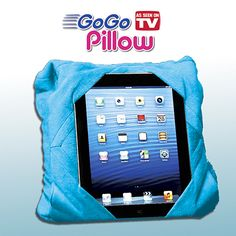 GO GO PILLOW NEON BLUE #ASOTV
