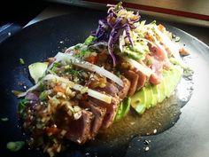 Tuna Tataki Ponzu Pico de Gallo Avocado Carpet #tataki #fusionfood #japanesefood #latinfood #nakedfishgang #thefishmovement #SushiGs #sushiporn #kitchenlife #sushigangsta #culinarywarriors #ispeaksushi #sushilatino #sushiworld #sushichef #cheflife #chefsofinstagram #cooking #truecooks #foodstarz #sushilovers #sushiart #foodporn #tepic #nayarit #mexico #foodiemx by alex.sushigangsta