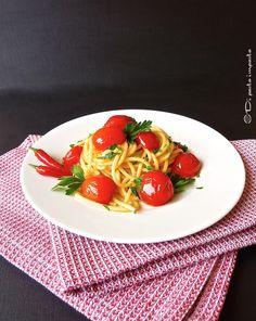 Di pasta impasta: Spaghetti all'arrabbiata
