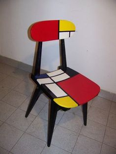 mondrian chair