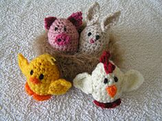 Ravelry: Creme Egg Creatures pattern by Catherine Hughes