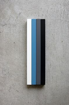 white, blue, grey, black on concrete These are my wedding reception colors!!