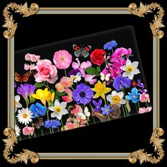 Floral Ceramic Decorative Tray