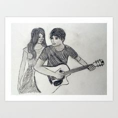Lovesong Art Print by Feral Doe - $15.00
