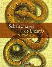 Seba's Snakes and Lizards: 240 Illustrations Albertus Seba Dover Publications, 1ª edição, 2006