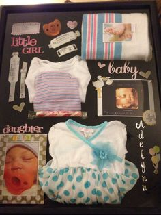 145 Best Baby Shadow Box Images Baby Keepsake Baby Memories Baby