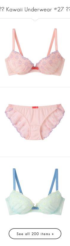 """♦︎ Kawaii Underwear #27 ♦︎"" by yandereotaku ❤ liked on Polyvore featuring lingerie, intimates, underwear, bras, underwire bra, shiny bra, lace shelf bra, yellow bra, underwire shelf bra and panties"