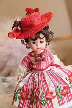 Madame Alexander...little lady with red hat