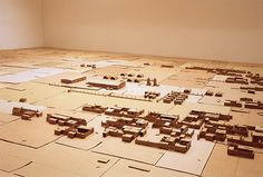 Next image >> Fabricated City, Cardboard City, Art Things, Installation Art, Cities, Upcycle, Photo Wall, Miniatures, College