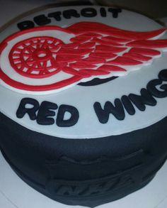 Detroit Red Wings Cake