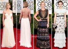 Worst Dressed at Golden Globe 2015 Awards: Rosamund Pike, Claire Danes and Keira Knightley #gown #redcarpet #celebrities #style #epicfail