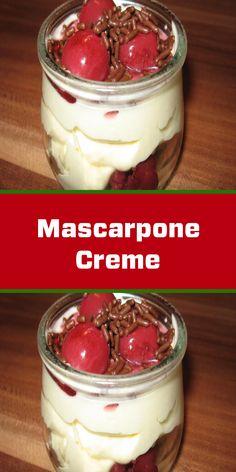 Köstliche Desserts, Tiramisu, Pudding, Food, Cooking, Lunches, Food Portions, Meal, Eten