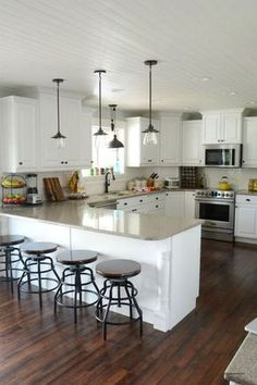 Elegant White Kitchen Interior Designs