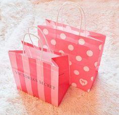 Imagem de pink, Victoria's Secret, and shopping