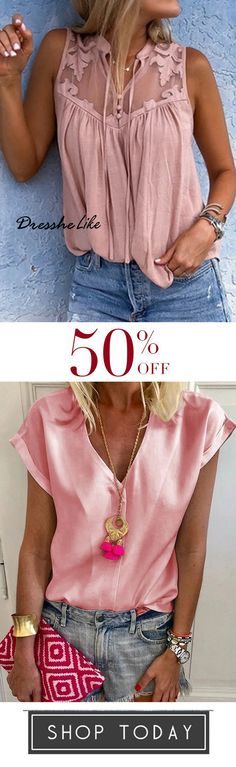 off, Chiffon Vintage Sleeveless V Neck Blouses Vogue Fashion, Boho Fashion, Fashion Outfits, Blouse Patterns, Blouse Designs, Kids Outfits, Summer Outfits, Blouse Dress, Chic Dress