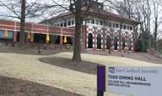"The kitchen has moved from the ""back of the house"" to exhibition cooking stations throughout the restaurant where everything happens right in front of you! East Carolina University, Great Schools, Restaurant, Dining, Food, Restaurants, Supper Club, Dining Room"
