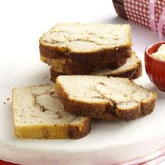 Swirl Cinnamon Bread Recipe from Taste of Home -- shared by the Taste of Home Test Kitchen